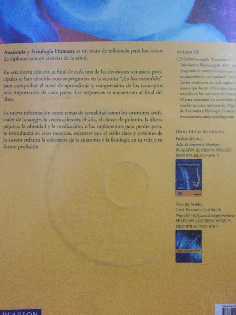 Moderno Fundamentos De La Anatomía Y La Fisiología De 8ª Edición De ...