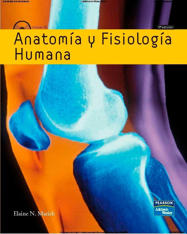 Anatomia Y Fisiologia Humana Marieb 9ªedic - Bs. 19,49 en Mercado Libre