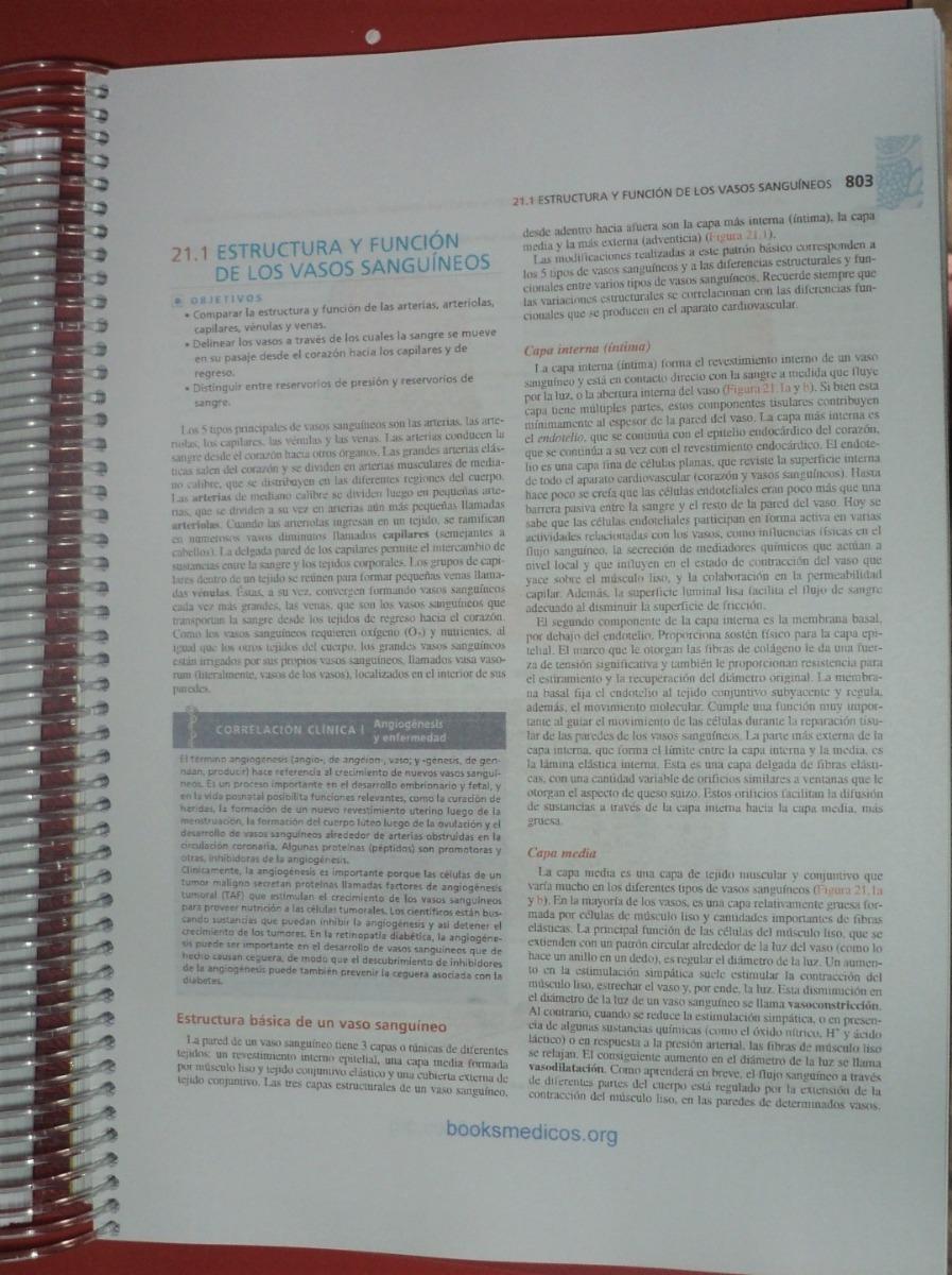 Anatomia Y Fisiologia Humana.. Tortora / Derrickson - $ 1.250,00 en ...