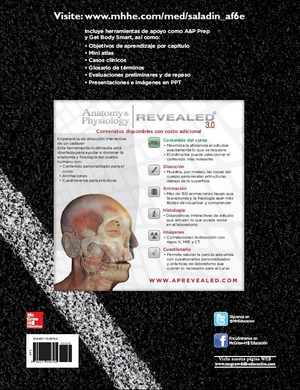 Anatomía Y Fisiología Mcgrawhill Educación 6 - $ 79.00 en Mercado Libre