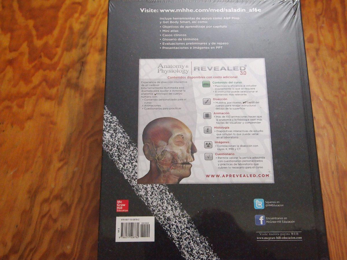 Moderno Conectar La Anatomía Y Fisiología De Saladin Colección ...