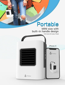 Anbber Portable Air Conditioner 4 In 1 Small Personal Usb