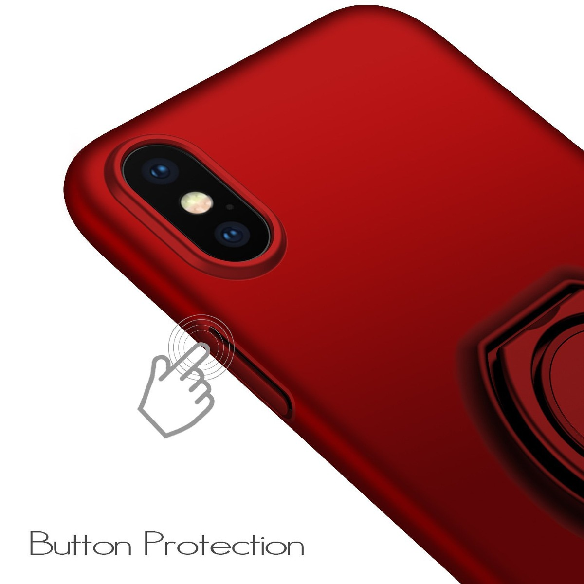 wholesale dealer f5c6e 1fcc9 Anccer iPhone X Case [anillo Flexible] [anti-drop] [protecci