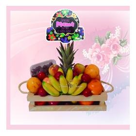 Ancheta Con Frutas Elegante Y Completa, Deséale Recuperación