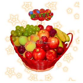 Ancheta Sorpresa Con Frutas, Canasta Excelente Presentación