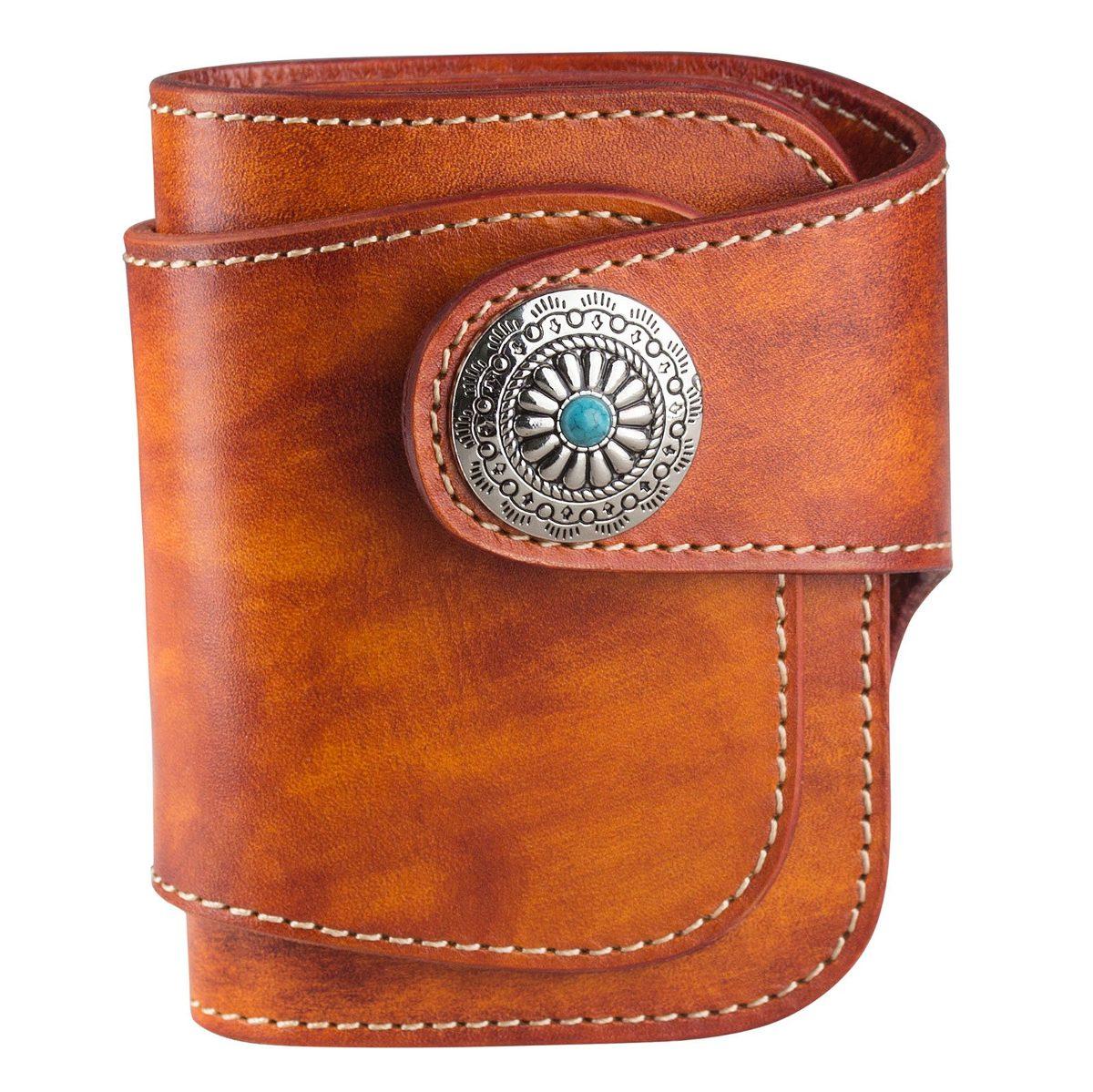 a91a49807 ancicraft billetera plegable de cuero genuino para hombre. Cargando zoom.