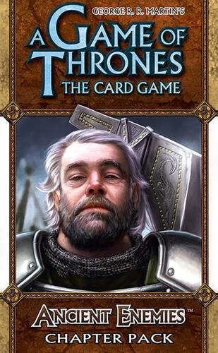 ancient enemies - expansão jogo game of thrones lcg ffg