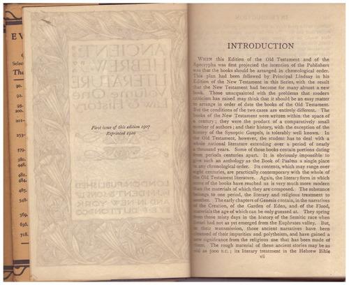 ancient hebrew literature 4 volumenes everyman's library1920