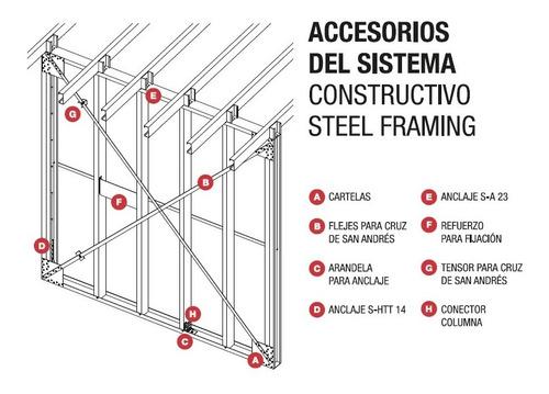 anclaje htt14 e3,2 steel frame barbieri