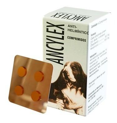 ancylex comprimido - vermífugo oral para cães