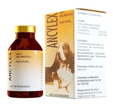 ancylex injetável