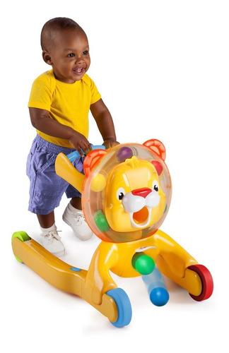 andadera caminador leon 3 en 1 bebe juguete brigth starts
