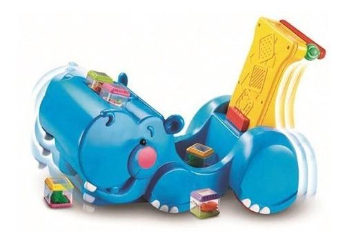 andadera fisher price 2 en 1 hipopotamo traga bloque
