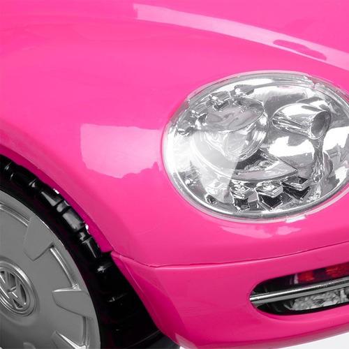 andadera infanti vw con charola electrónica pink