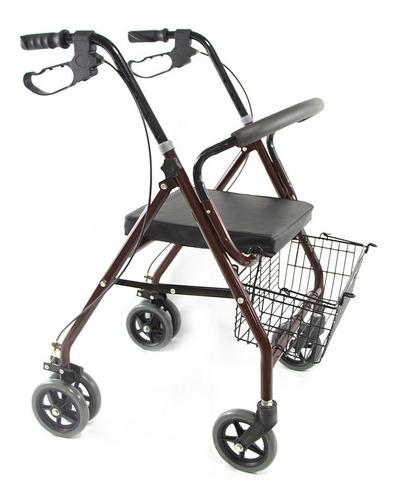 andadera ortopedica rollator asiento silla adulto mayor
