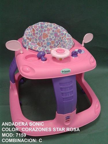 andadera para bebe sonic de prinsel envio gratis + msi