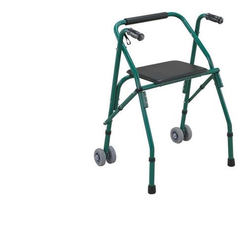 andadera rollator con asiento y ruedas