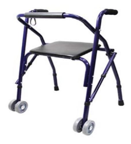 andadera rollator ortopedica sencilla azul envio gratis!