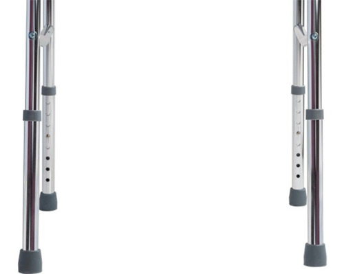 andador 3 barras fixo, articulado e dobrável adulto dellamed