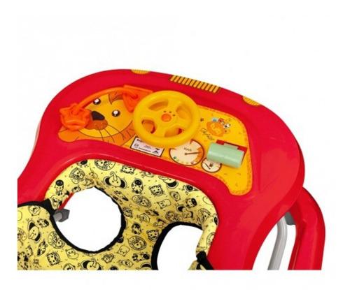 andador bebê regulagem altura até 15kg toy c/ certificação