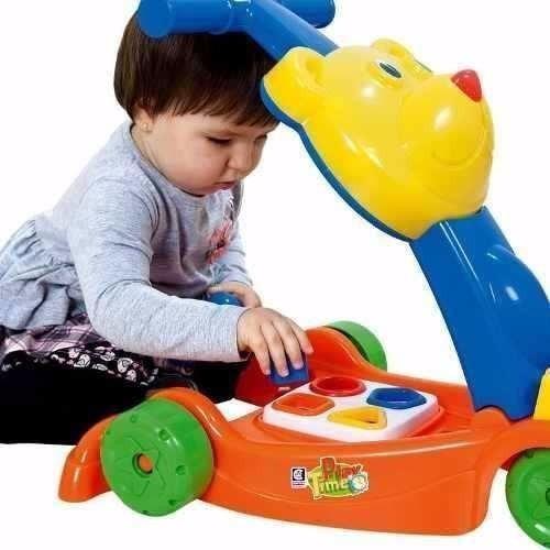 andador com atividades play time - cotiplás
