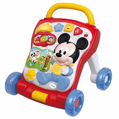 andador con actividades 2 en 1 baby mickey primeros pasos