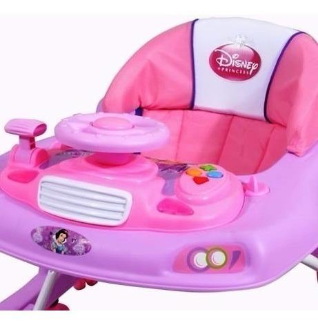 andador disney musical didactico cars / princesas reforzado