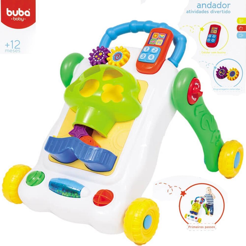 Andador Infantil Musical Bebe Primeiros Passos C Brinquedos