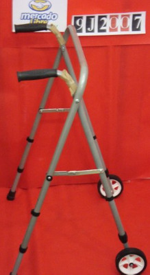 andador ortopedico altura  regulable plegable con ruedas