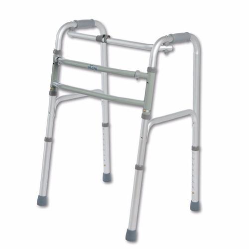 andador ortopedico aluminio plegable silfab a3015 h100kg owo