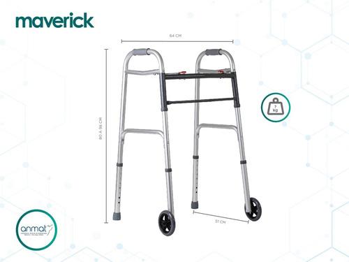 andador ortopédico con ruedas aluminio liviano envío gratis