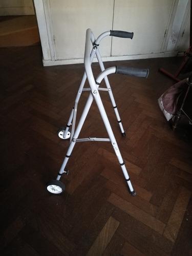 andador ortopedico plegable de aluminio