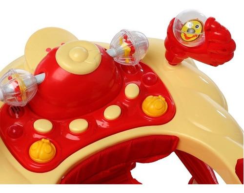 andador para bebe sonidos tablero didáctico y juguetes