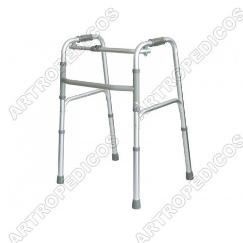 andador plegable de aluminio para adulto mayor