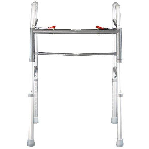 andador plegable por vive - walker ancianos es ajustable y