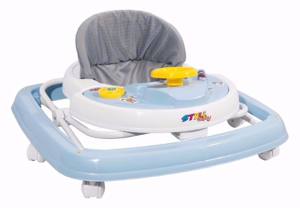 30b2ad70d2 andador styll baby musical azul infantil regulavel 6 rodas. Carregando zoom.