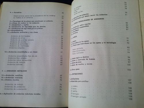 andamios apeos y entibaciones por jose m. ledo n° 54