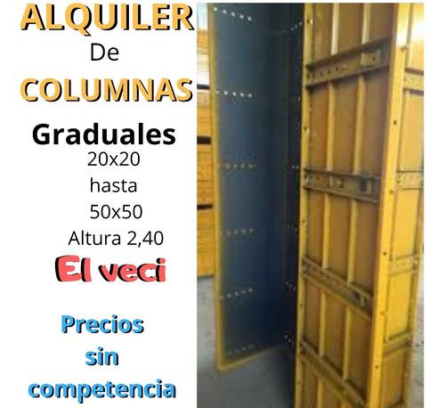 andamios columnas de alquiler