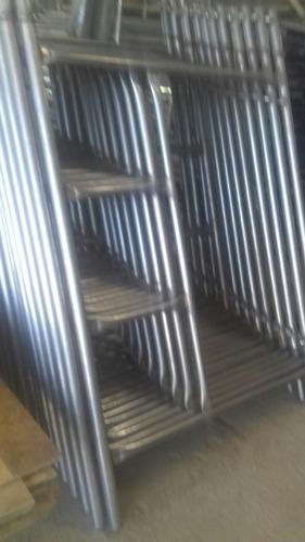 andamios tubulares en inox calidad 409