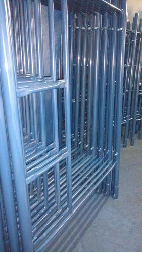andamios tubulares estandar  2 mm,1,6mm somos fabricantes jm