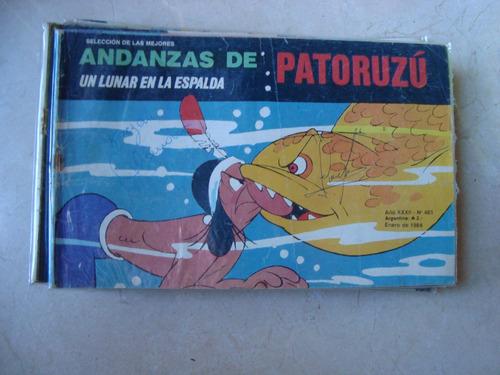 andanzas de patoruzu 483 1/1988 comic historieta quinterno