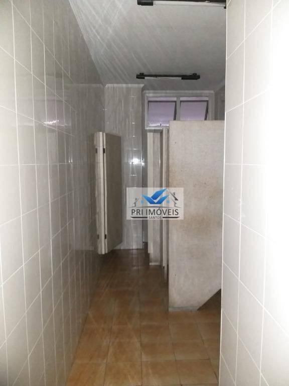 andar corporativo para alugar, 300 m² por r$ 15.000,00/mês - centro - santos/sp - ac0002