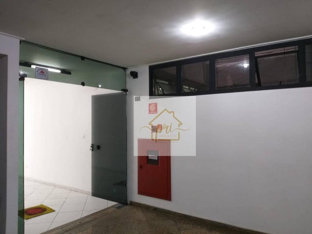 andar corporativo para alugar, 600 m² por r$ 26.000,00/mês - centro - santos/sp - ac0003