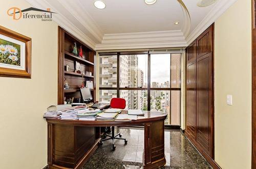 andar corporativo à venda, 152 m² por r$ 1.800.000 - água verde - curitiba/pr - ac0005