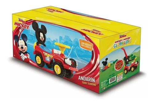 andarin caminador andador pata mickey mouse manija empuje
