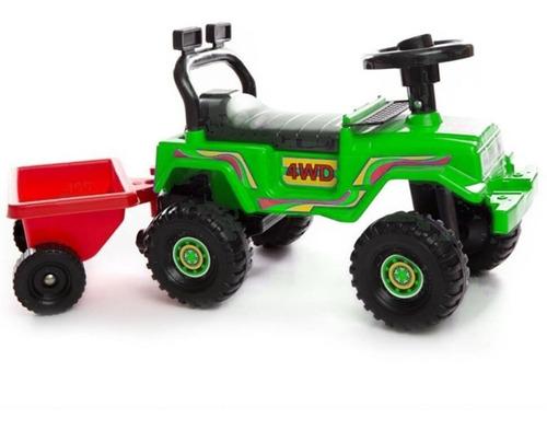 andarin caminador toyota trailer porta juguetes planeta