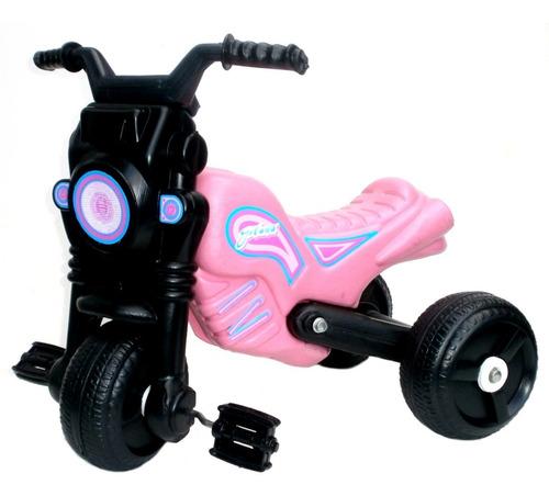 andarin triciclo moto gitana 3 ruedas dirección pvc patonas