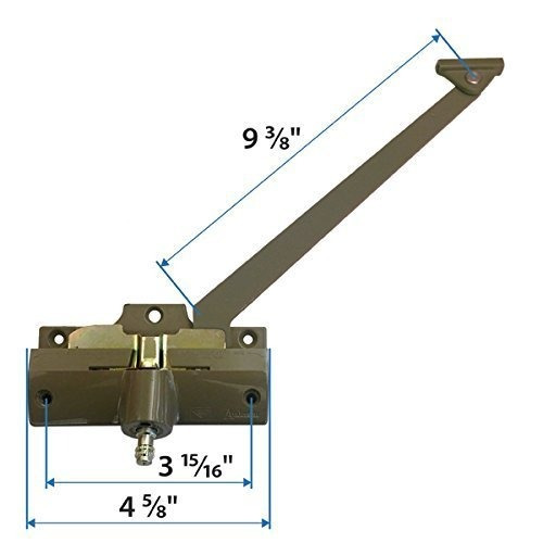 andersen operador de brazo recto de 9 38 pulgadas de long