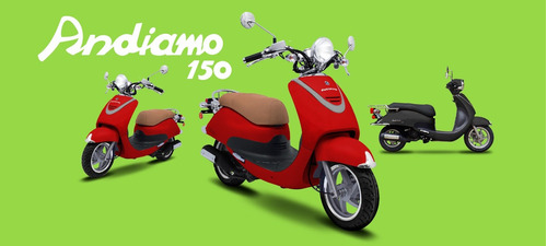andiamo 150 guerrero scooter 150