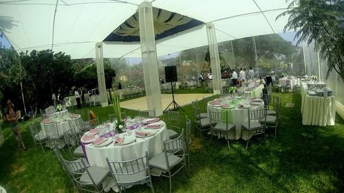 andina eventos & buffets (alquiler de toldo, sillas, mesas)